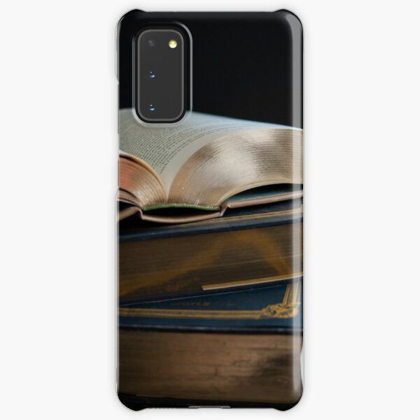Golden Pages Samsung Galaxy Snap Case