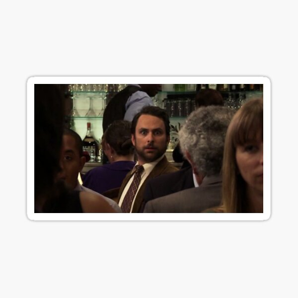 Charlie Kelly's Stare Sticker
