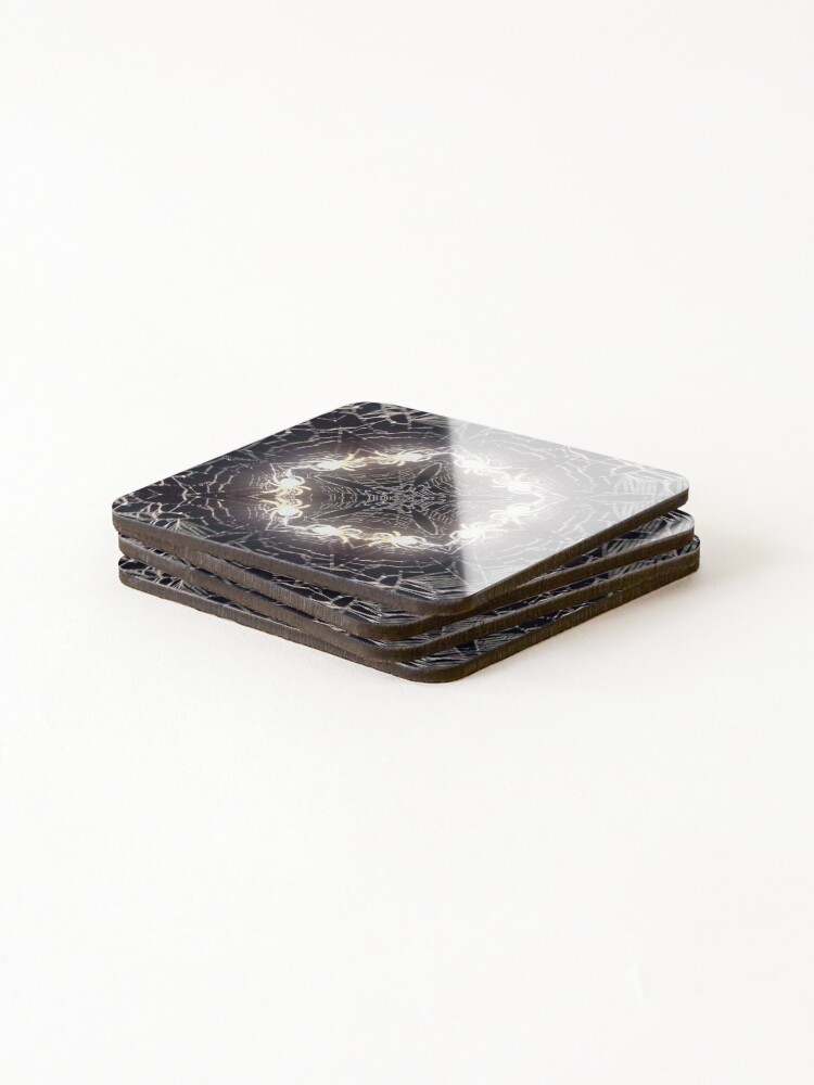 Alternate view of Bizarre Spidery Web Coasters (Set of 4)