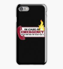 It Crowd Inspired - New Emergency Number - 0118 999 881 99 9119 725 3 - Moss and the Fire iPhone Case/Skin