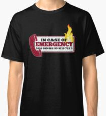 It Crowd Inspired - New Emergency Number - 0118 999 881 99 9119 725 3 - Moss and the Fire Classic T-Shirt