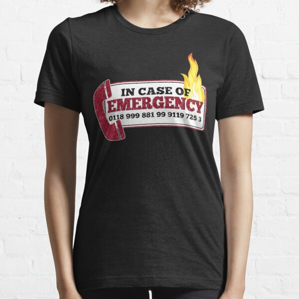 It Crowd Inspired - New Emergency Number - 0118 999 881 99 9119 725 3 - Moss and the Fire Essential T-Shirt