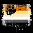 Painted Bear Flag by queeradise