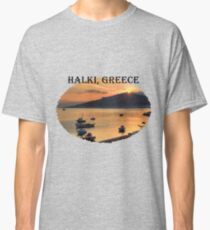 Halki Sunrise (version 1) Classic T-Shirt
