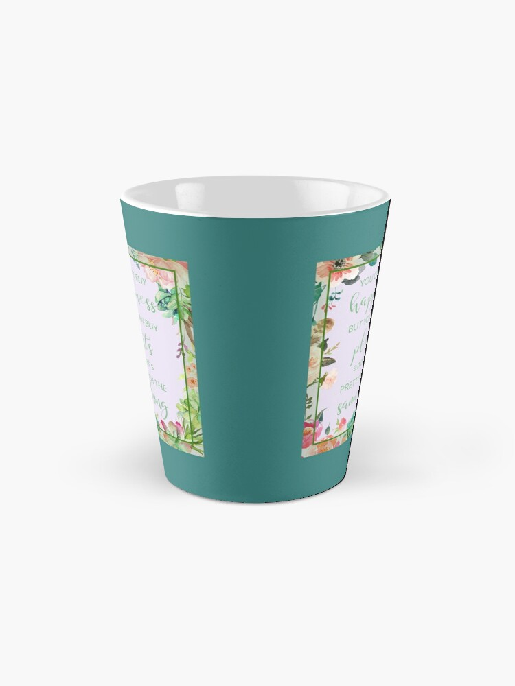 Alternate view of You Can't Buy Happiness But You Can Buy Plants Mug