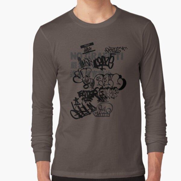 No Graffiti Long Sleeve T-Shirt