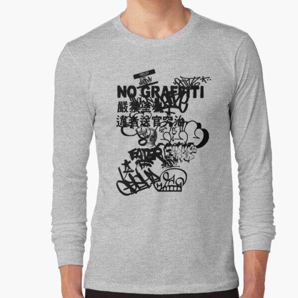 No Graffiti All Black Label Long Sleeve T-Shirt