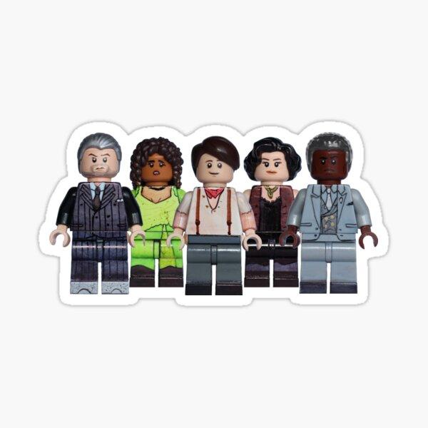 Full Cast - Hadestown - Broadway Bricks Sticker