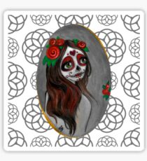 Rose Red of the Dead Sticker