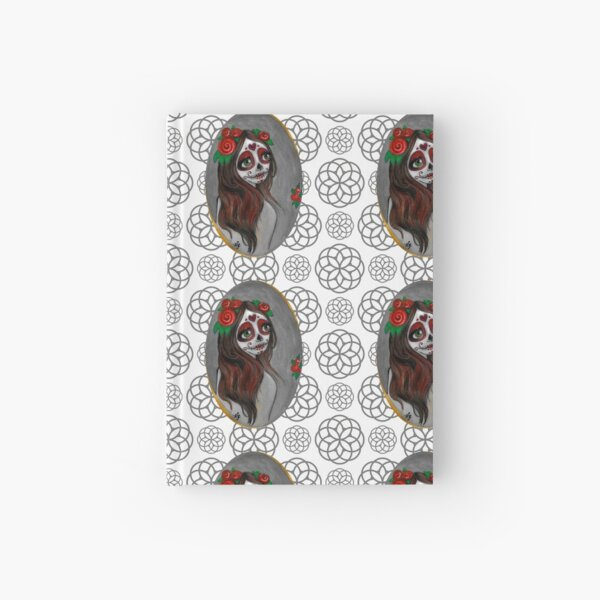 Rose Red of the Dead Hardcover Journal
