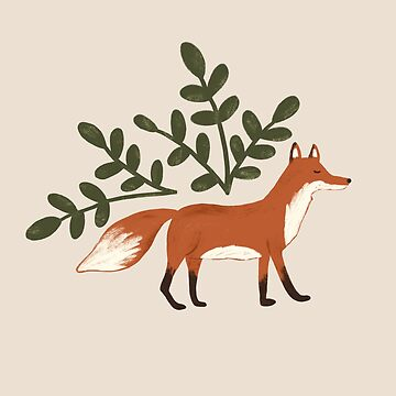 Wandering Fox Pattern by ohjessmarie