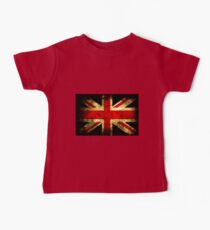 UK Grunge Flag Baby Tee