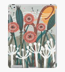 Meadow Breeze Floral Illustration iPad Case/Skin