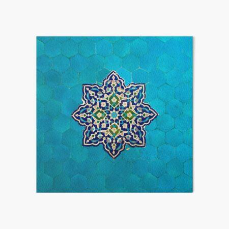 Persian Ceramic Design 52 Art Board Print