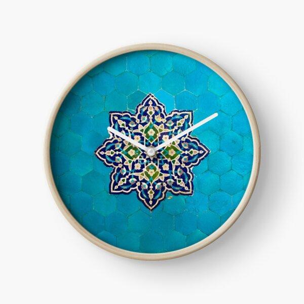 Persian Ceramic Design 52 Clock