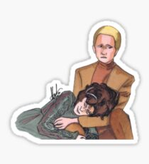 Odo & Lwaxana Sticker