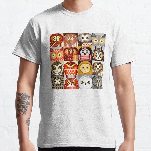 Nordamerikanische Eulen Classic T-Shirt