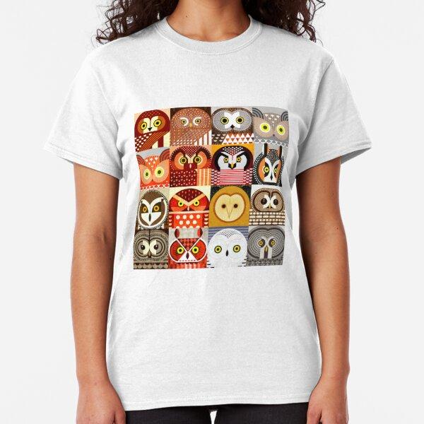 North American Owls Classic T-Shirt