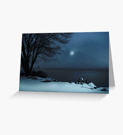Moonlight Romp Greeting Card