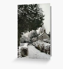 So Quiet Greeting Card