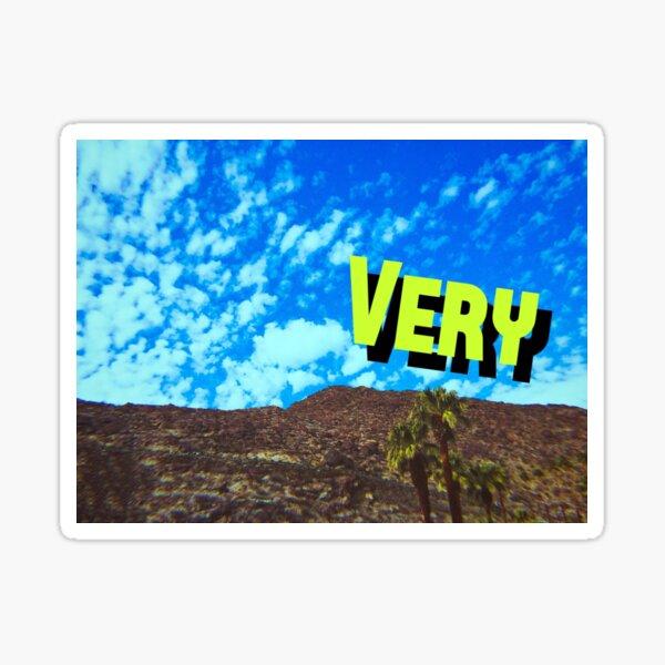 Very Sky Sticker