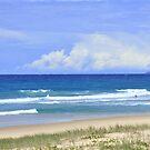 «Playa de la sirena, Costa de oro, abril de 2019» de Virginia McGowan
