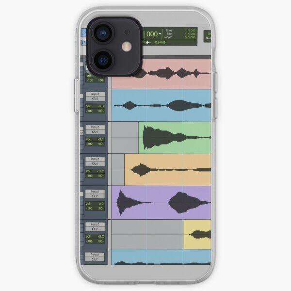 Audio Engineer Music Recording Program DAW Home Studio Digital Audio Workstation Mug Gift iPhone Soft Case