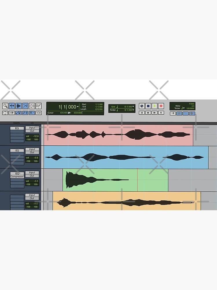 Audio Engineer Music Recording Program DAW Home Studio Digital Audio Workstation Mug Gift by blueversion