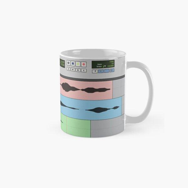 Audio Engineer Music Recording Program DAW Home Studio Digital Audio Workstation Mug Gift Classic Mug