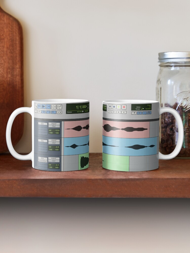 Alternate view of Audio Engineer Music Recording Program DAW Home Studio Digital Audio Workstation Mug Gift Mug