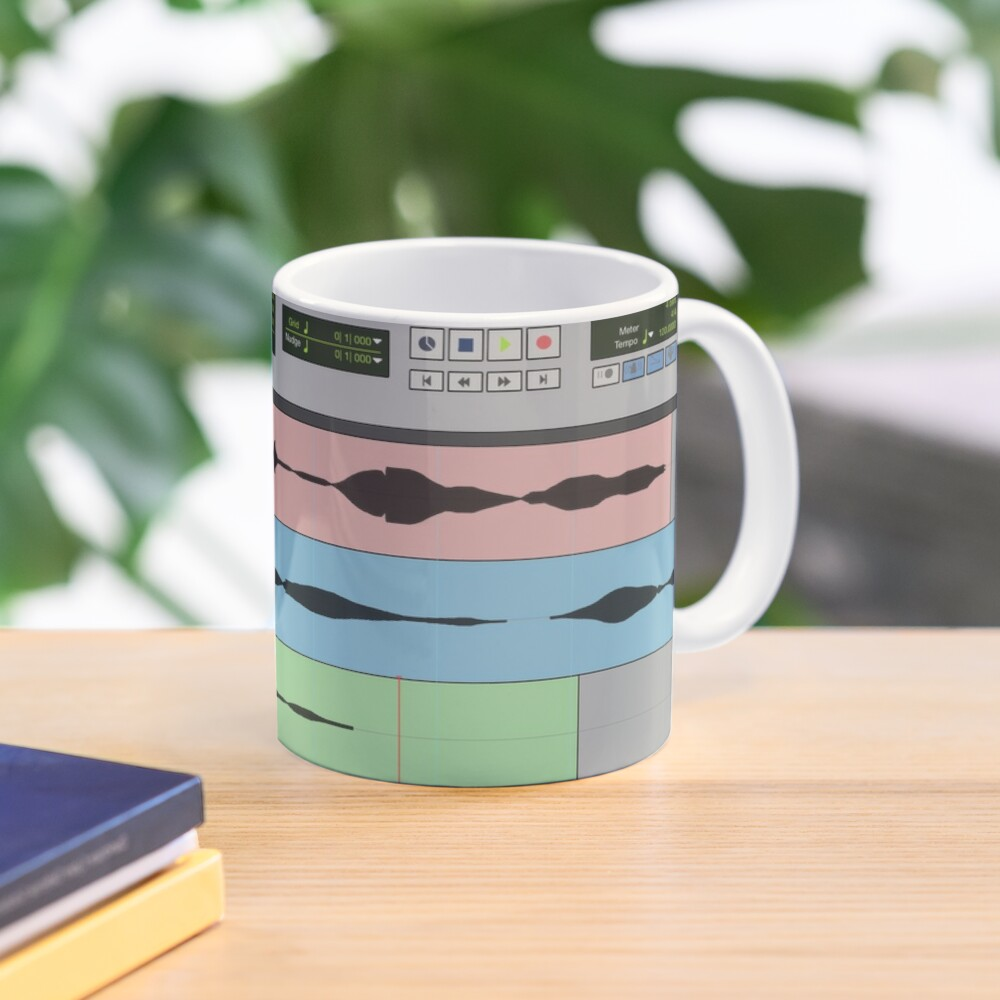 Audio Engineer Music Recording Program DAW Home Studio Digital Audio Workstation Mug Gift Mug
