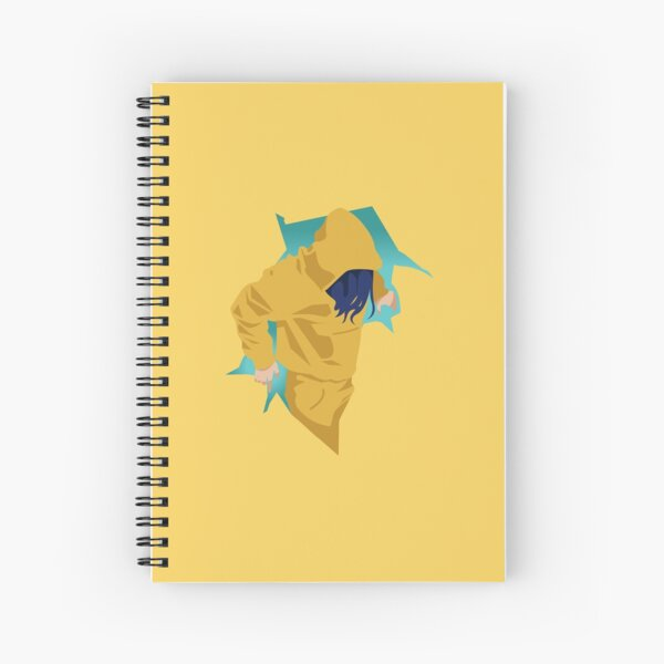 bad guy Spiral Notebook