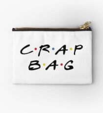 Crap Bag Pouch Zipper Pouch