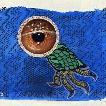 strange bird by samserif