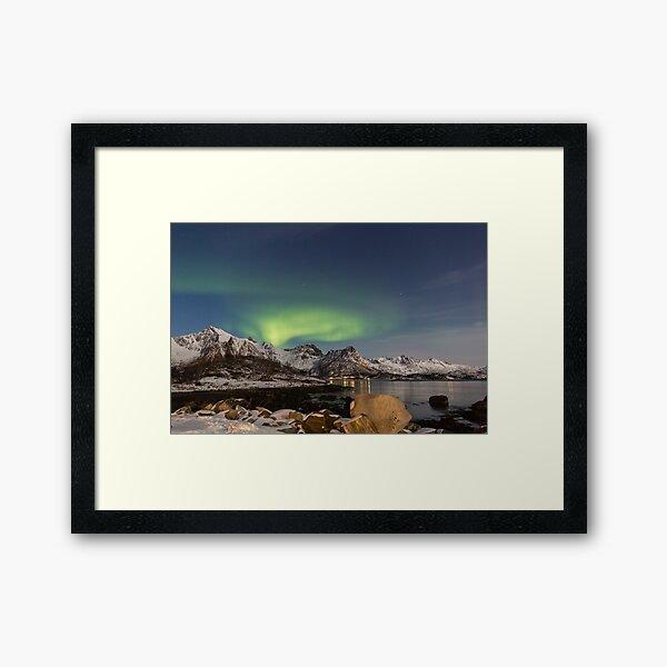 Lofoten Aurora Framed Art Print