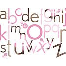 TYPOGRAPHY :: trendy alphabet 3 by Kat Massard