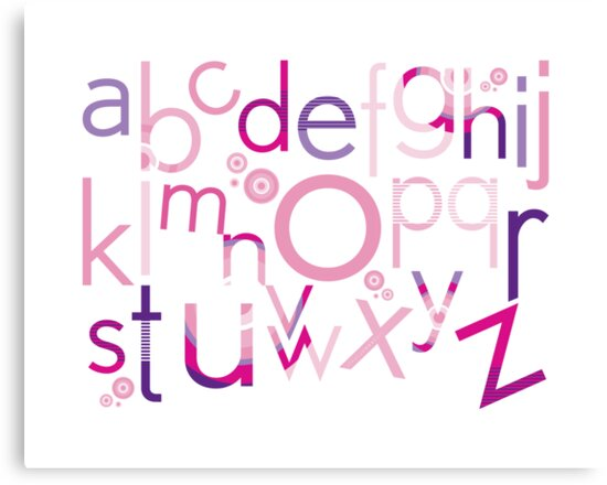 TYPOGRAPHY :: trendy alphabet 4 by Kat Massard
