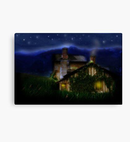 Silent Night Majesty Canvas Print