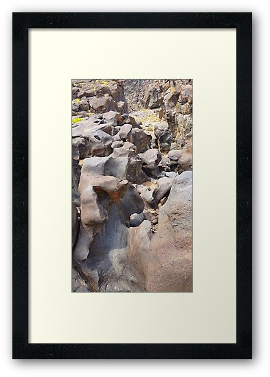 Fossil Falls by Steve Hunter
