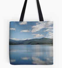 Clouds On Lake Almanor Tote Bag