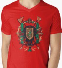 Astral Abstammung T-Shirt mit V-Ausschnitt für Männer
