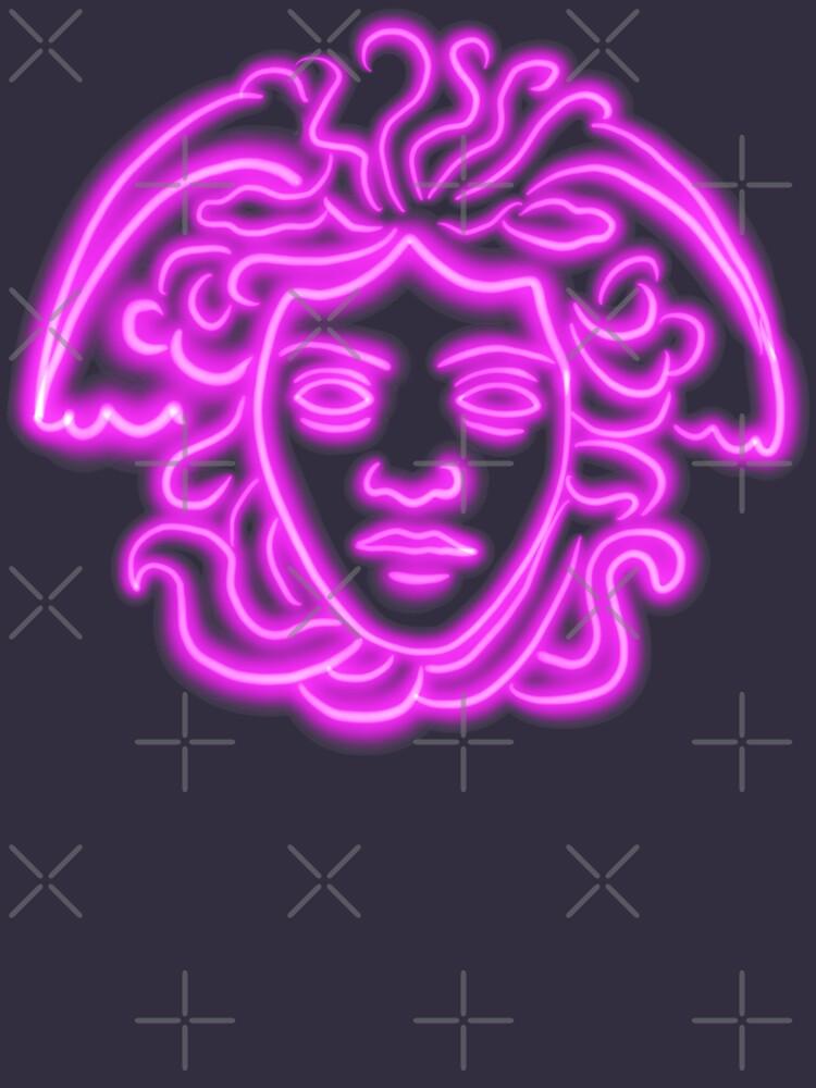 Neon Versace Medusa by isstgeschichte