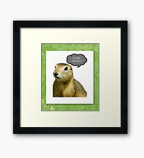 To Cute for Pics!!! Framed Print