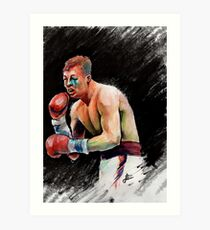 Warrior, Arturo Gatti Art Print