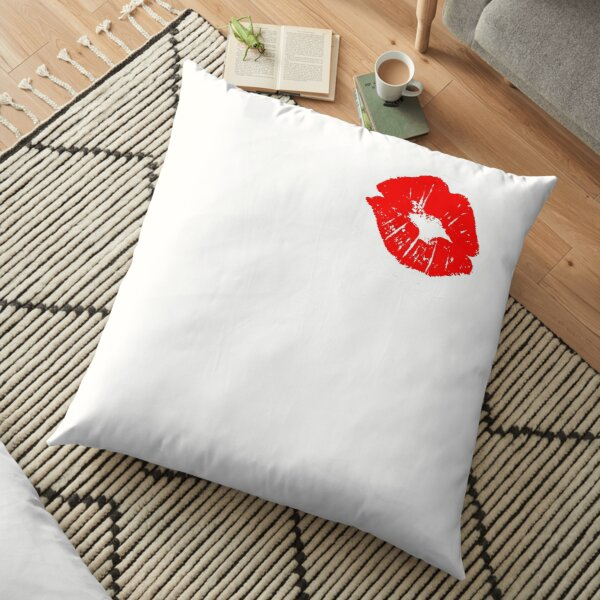 French kiss Floor Pillow