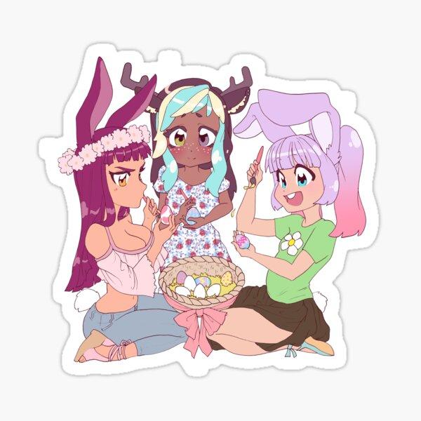 Kitti Minx ASMR - Doe, Kida, & Billie Springtime Fun! Sticker