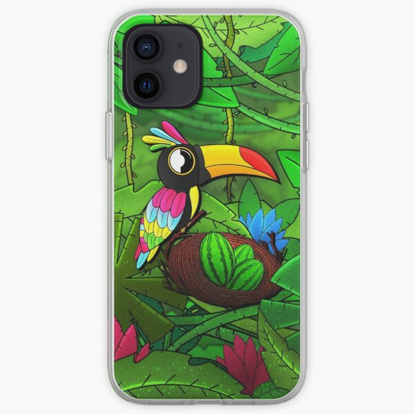 Colorful Toucan iPhone Soft Case