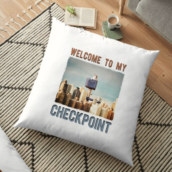 Welcome to my Checkpoint Coussin de sol