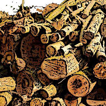 Wood bywhacky by bywhacky