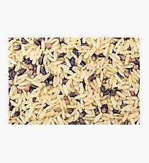 Wild Rice Photographic Print